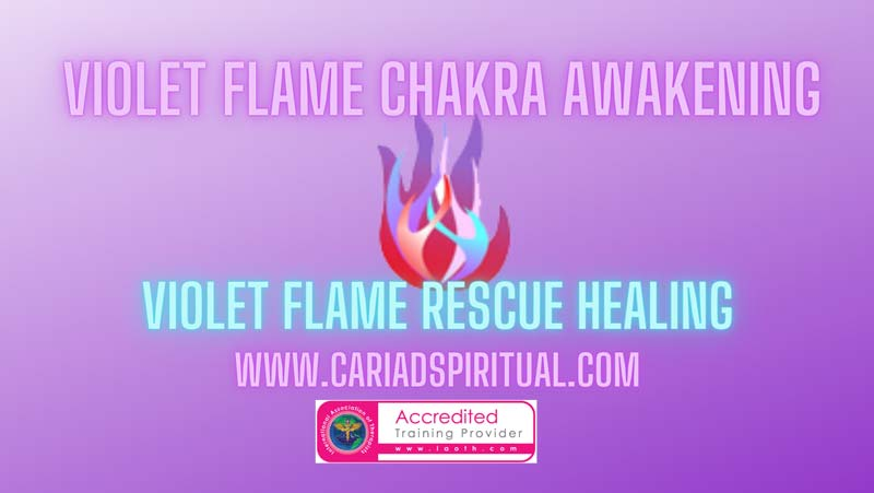 Violet Flame Rescue Healing Accredited Training - Angela Medway Smith